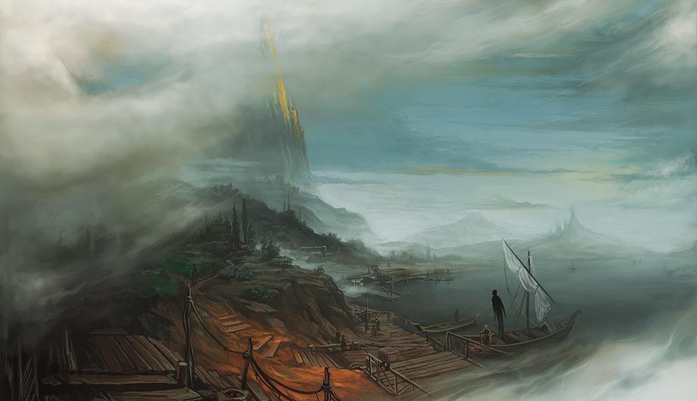 mists of earthsea by KalaNemi