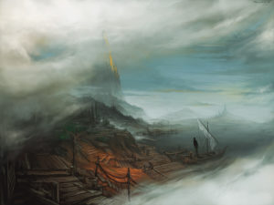 mists of earthsea by KalaNemi
