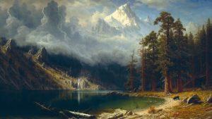 Mount Corcoran w wykonaniu Alberta Bierstadt-a jest teraz w public domain